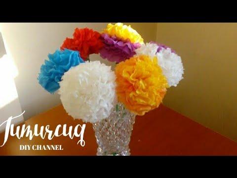 """Kagizdan El Isi""""Güllər"""".DIY flowers from paper."""