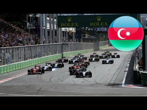 F1 2016 I SRL GP2 Season 2 - Round 8 - Azerbaijan (FULL STREAM)