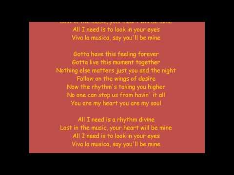 Enrique Iglesias  Rhythm Divine lyrics HQ