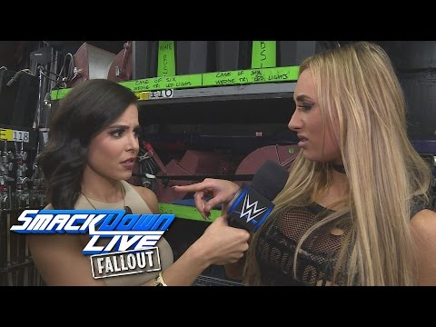 Carmella pledges to end to Nikki Bella: SmackDown LIVE Fallout, Oct. 4, 2016