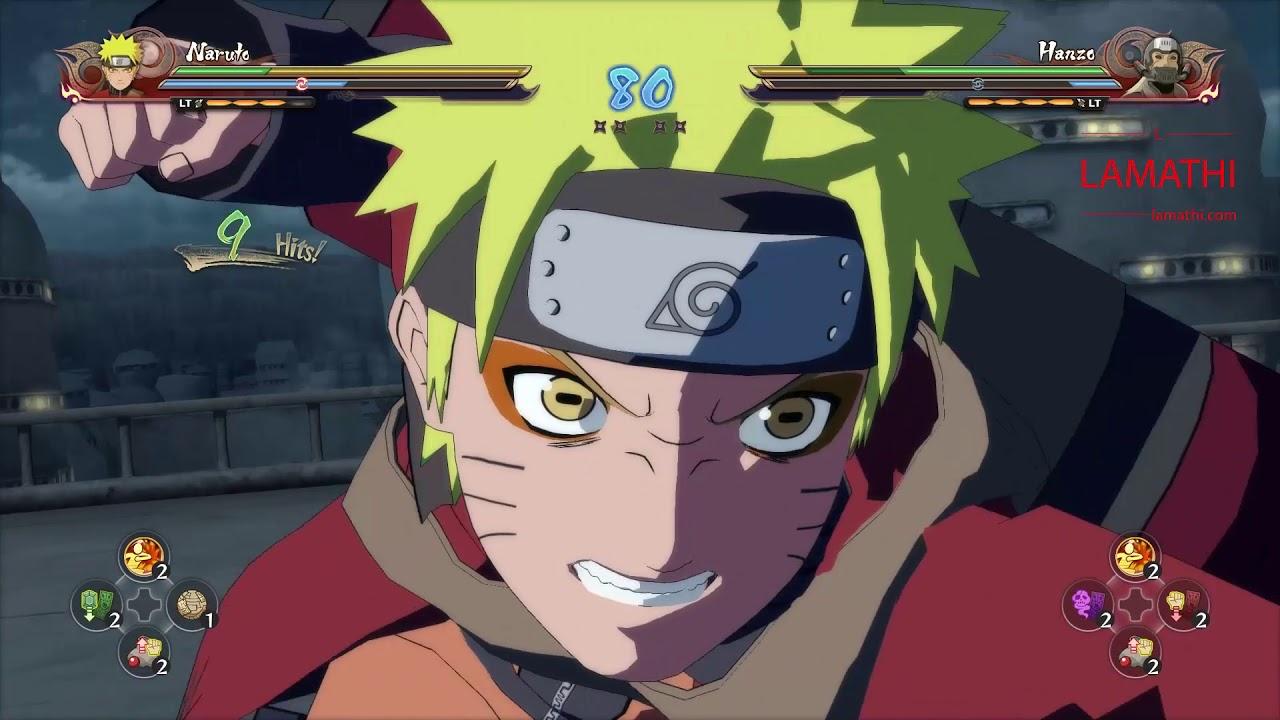 Uzumaki Naruto vs Hanzo | Naruto Shippuden Ultimate Ninja ...