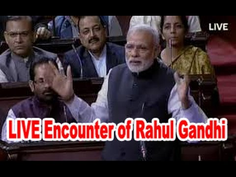 Narendra Modi Did the LIVE Encounter of Rahul Gandhi in Parliament