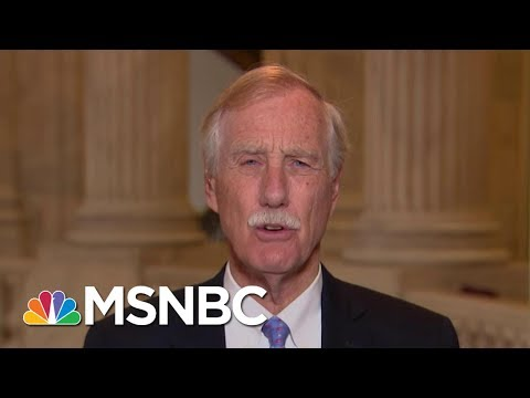 Senator Angus King Stops Short Of Calling For Assault Weapon Ban | Morning Joe | MSNBC
