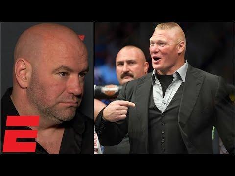Dana White: Daniel Cormier vs. Brock Lesnar should be next | UFC 230