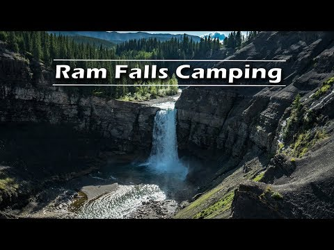 Ram Falls Provincial Park Camping | Journey Alberta