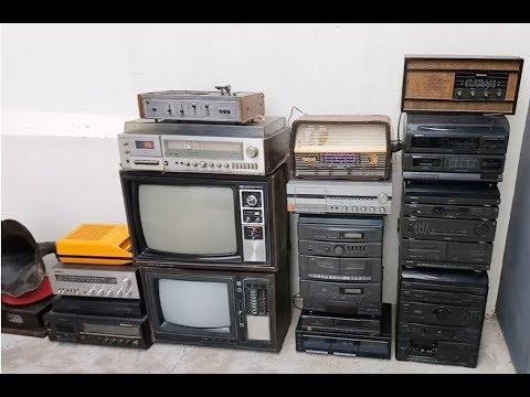 Aparelhos antigos: Rádios antigos, vitrolas e muito mais