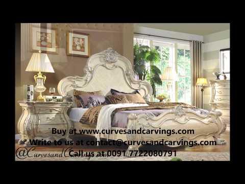 Buy Designer Luxury Beds & Bedroom Sets Online in India