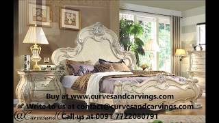Buy Designer Luxury Beds & Bedroom Sets Online In India