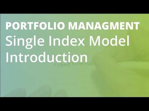 Single Index Model Linear Regression   Portfolio Management von YouTube · Dauer:  1 Minuten 50 Sekunden