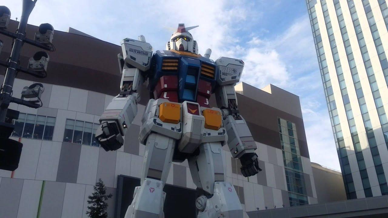 JapanForever In diretta dal Giappone - Gundam Odaiba FULL HD