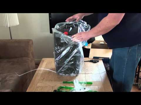 Eheim professional 3 electronic 2078 canister filter unboxing.