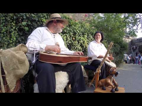 Duo Dulcimus . Burggrabenfest Nürnberg 2015 . Dulcimer und Djembe
