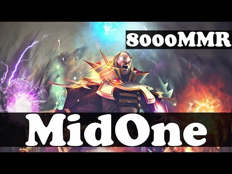 MidOne 8000 MMR Plays Invoker vol 7 - Ranked Match Gameplay - Dota 2