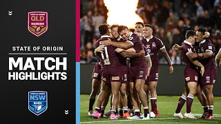 Blues v Maroons | Game 1, 2020 | State Of Origin