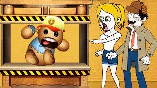 Clue Hunter Vs Kick the Buddy - Gameplay Walkthrough Android Pro Vs Noob Funny Compilation HD