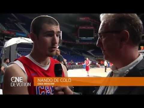 Pre-game interview: Nando De Colo, CSKA Moscow