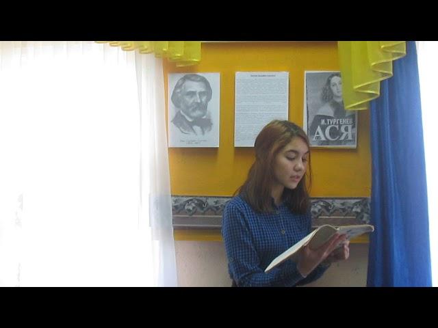 Изображение предпросмотра прочтения – ВалерияАкимова читает отрывок изпроизведения «Ася» И.С.Тургенева