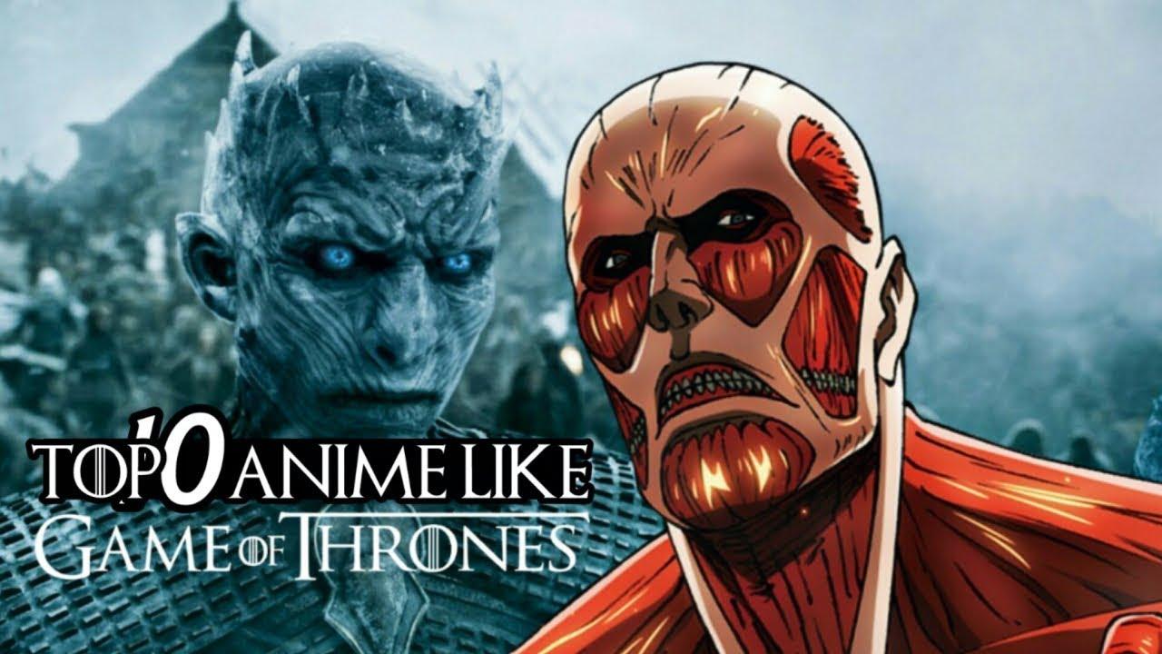 أفضل 10 أنميات تشبة قيم اوف ثرونز    Top 10 Anime Like Game Of Thrones