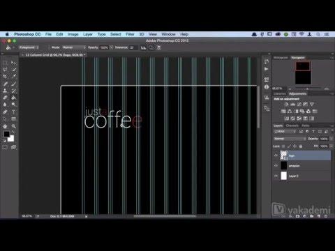 Adobe Photoshop'ta Web Sitesi Tasarımı -  Logonun Yerleştirilmesi