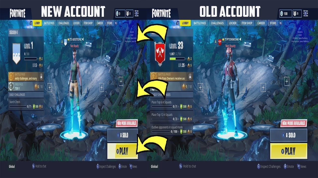 Fortnite How To Make A Epic Games Account If You Pressed ...