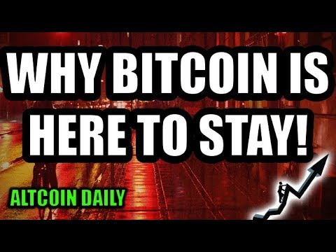WHY BITCOIN IS HERE TO STAY! LINDY EFFECT? [CRYPTOCURRENCY/]