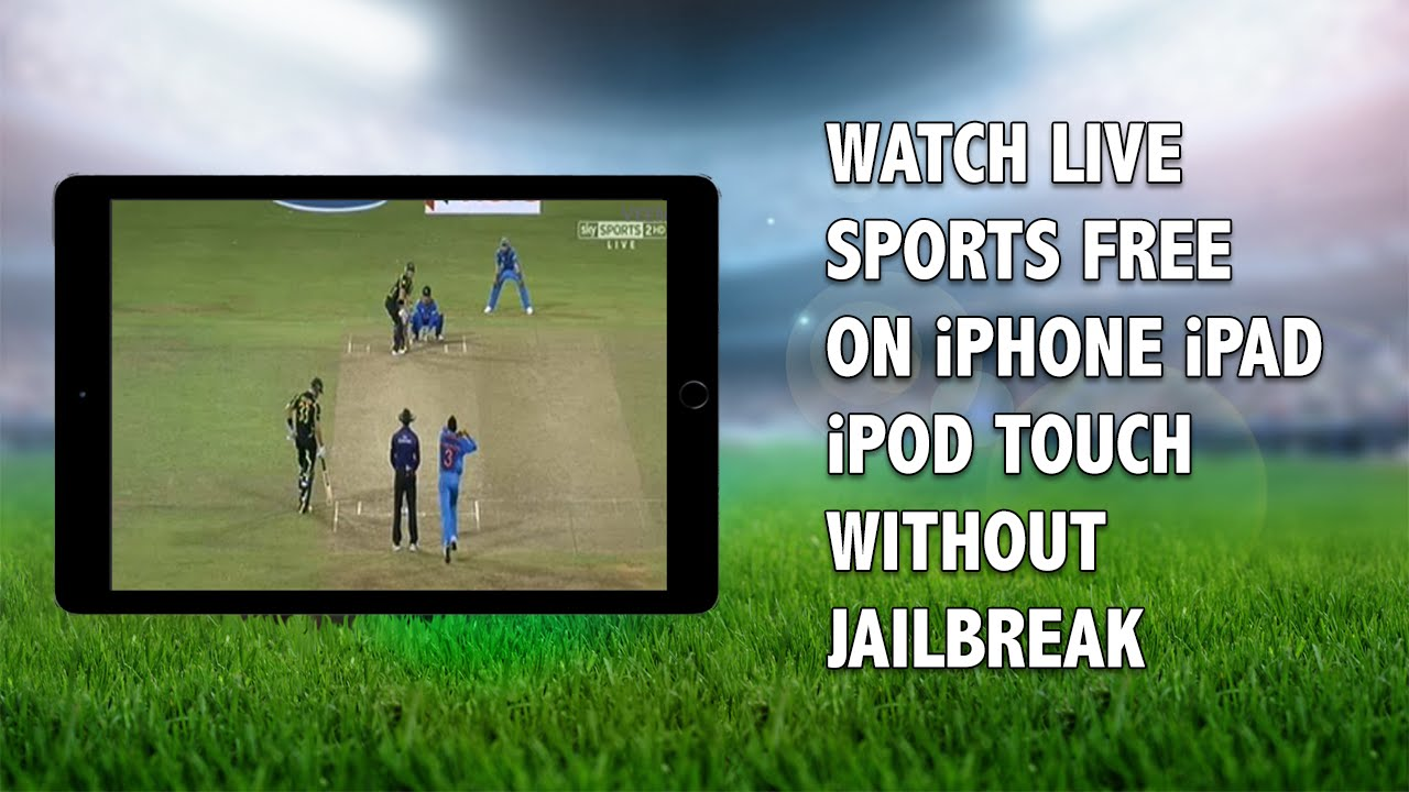 watch free live sports tv on ipad
