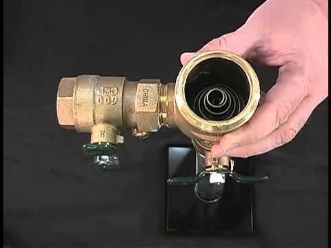 how to repair a watts pressure vacuum breaker 800m4 series. Black Bedroom Furniture Sets. Home Design Ideas