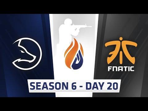 ECS Season 6 Day 20 LDLC vs Fnatic - Dust 2