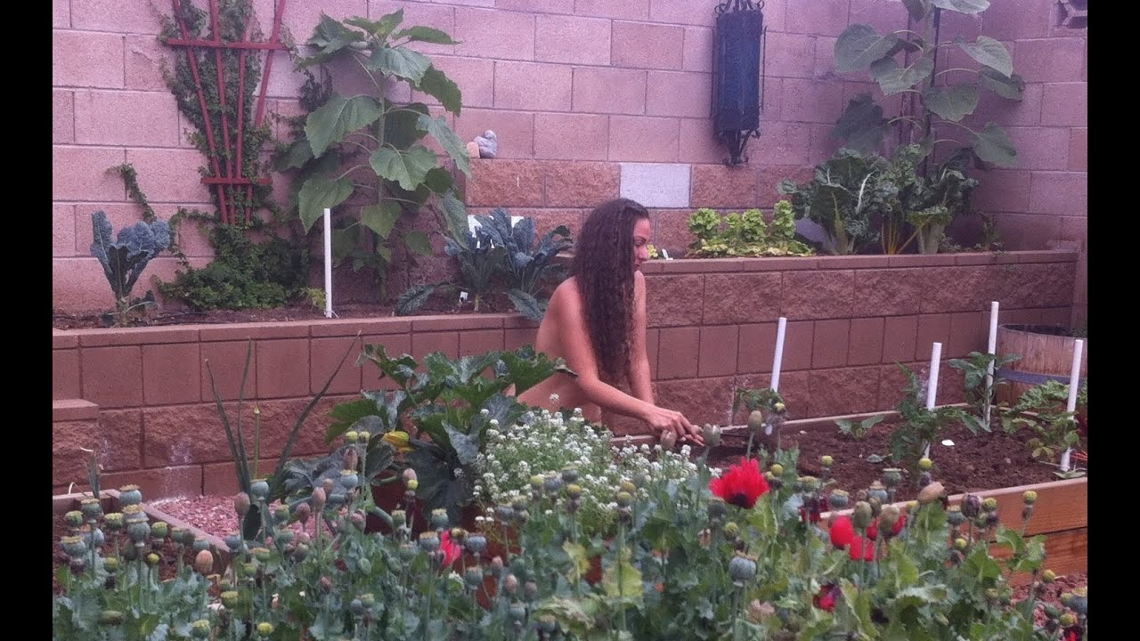 Happy World Naked Gardening Day May 2 2015 Youtube