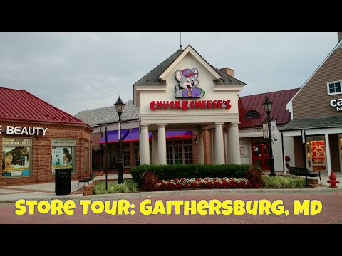 Chuck E. Cheese's Store Tour: Gaithersburg, MD