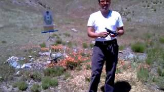 Pistola CZ 75 P-07 DUTY 9 Milimetros  Prueba de funcionamiento