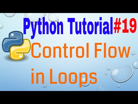 Control Flow in Loops - Python Tutorial (Part 19) 🐍