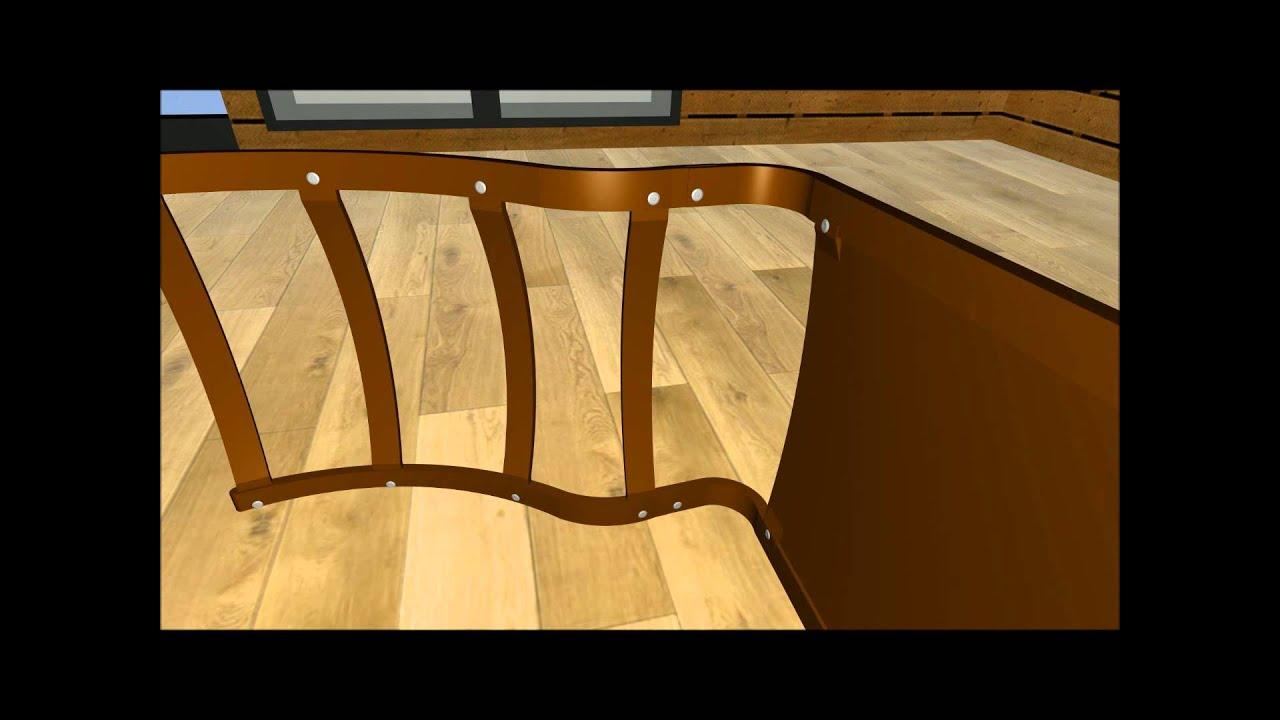aufbauanleitung ikea po ng youtube. Black Bedroom Furniture Sets. Home Design Ideas