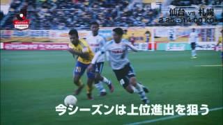 北の両雄が開幕で激突!明治安田生命J1リーグ 第1節 仙台vs札幌は2017...