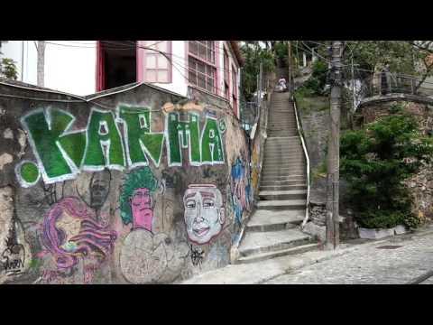 Passeio no bondinho de Santa Teresa - Rio de Janeiro - Brasil