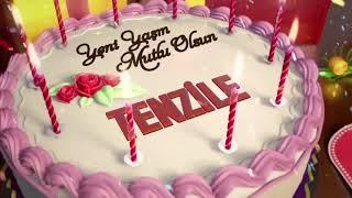 İyi ki doğdun TENZİLE - İsme Özel Doğum Günü Şarkısı