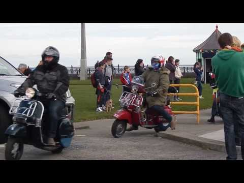 Scooter Ireland Easter Egg Run from Bray