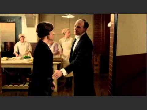 Mr. Molesley & Mrs.Baxter  Downton Abbey