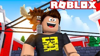 MOOSE IS THE WORST BABY! -Roblox Adopt Me Dansk feat. The Manly Moose