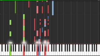 Daniel Powter - Bad Day - Piano Tutorial (Synthesia)