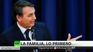 Bolsonaro evalúa nombrar a uno de sus hijos como embajador de Brasil en EE.UU.