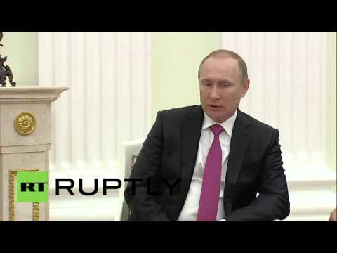 Russia: Putin and Qatari Emir discuss energy cooperation, situation in Middle East