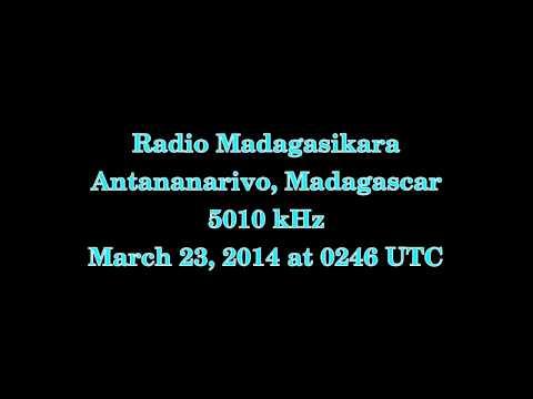 Radio Madagasikara (Antananarivo, Madagascar) - 5010 kHz
