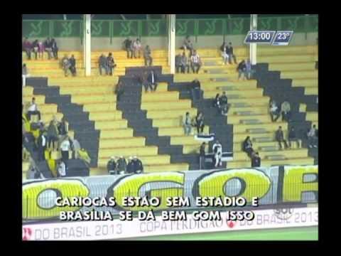 Times cariocas estão sem estádio e jogam em Brasília