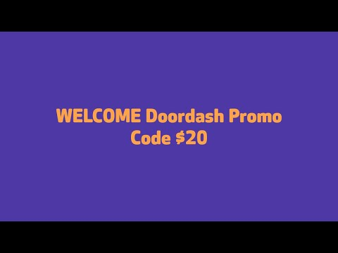Doordash Promo Code $20