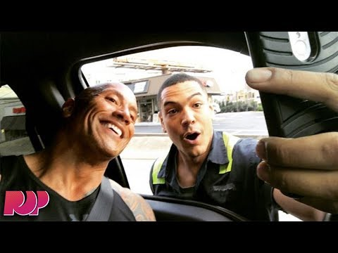 Man Risks Life To Take Selfie With The Rock