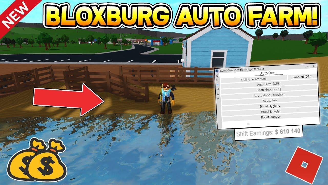 NEW OP BLOXBURG AUTO FARM HACK (UNLIMITED MONEY ) ROBLOX YouTube