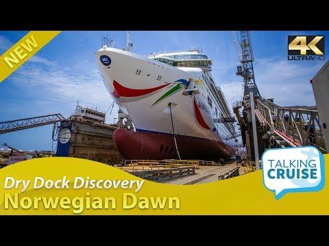 Dry Dock Discovery - Norwegian Dawn Cruise Ship