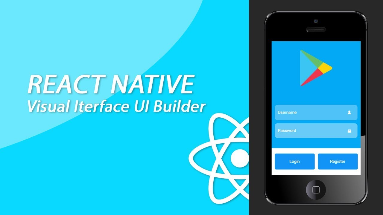 React Native Login & Registration Screen Tutorial With Navigation- Drag &  Drop Builder