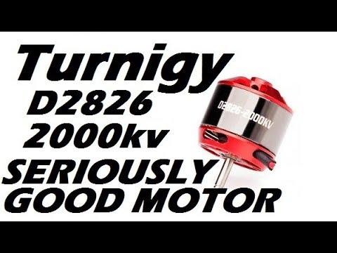 Turnigy D2826 2000kv Thrust Test Motor Test of the Week